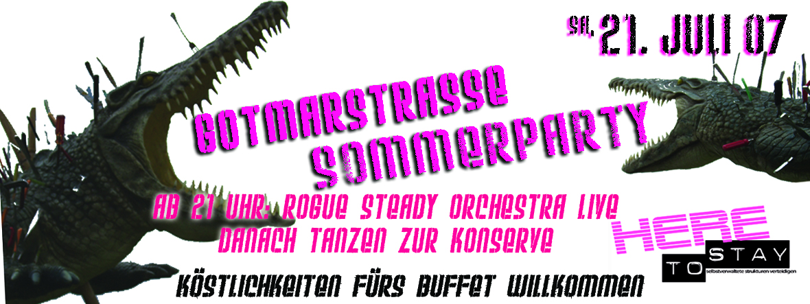 flyer sommerparty